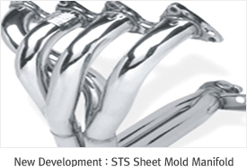 New Development : STS Sheet Mold Manifold